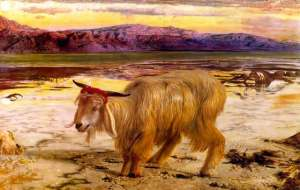 The Scapegoat by William Holman Hunt 1854