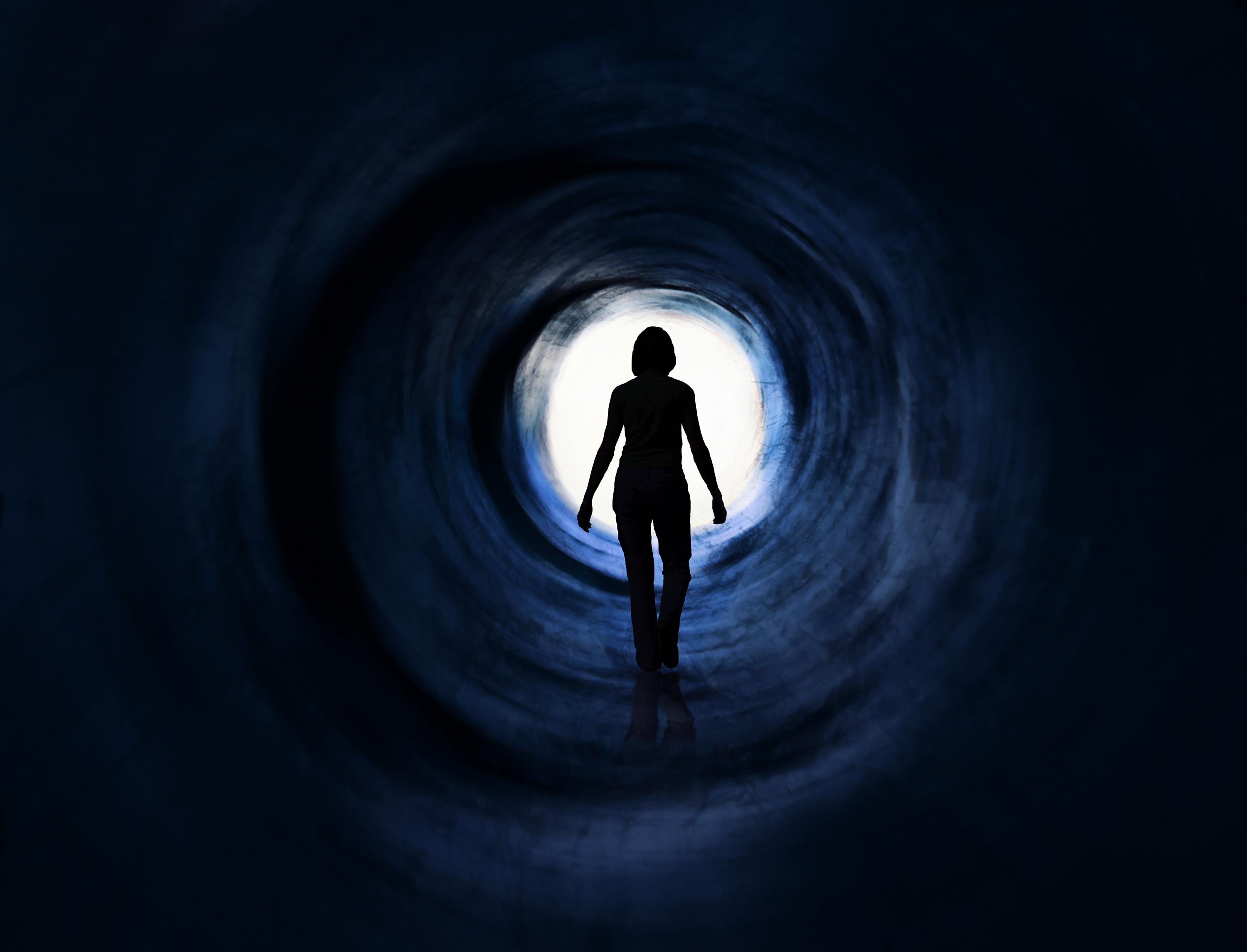 Woman is walking towards g