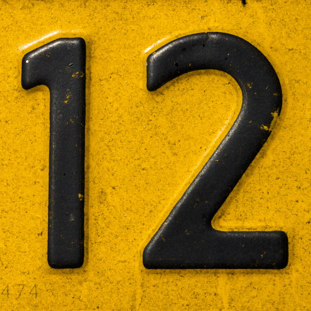 the number 12  u2013 revelation 21 12